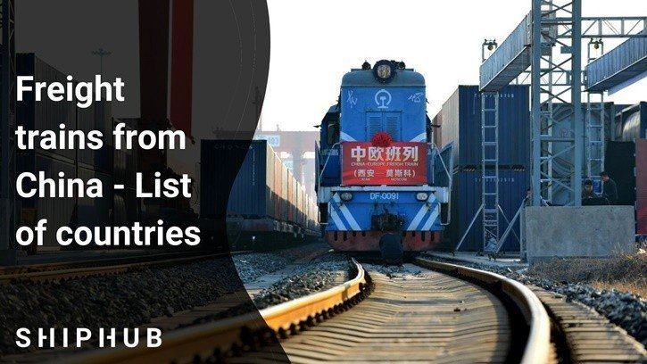 freight trains from china